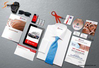 Thiết kế bộ nhận diện thương hiệu công ty Toàn Phát