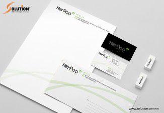 Thiết kế bộ nhận diện thương hiệu Herpoo