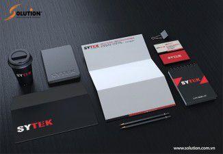 Thiết kế bộ nhận diện thương hiệu Sytek