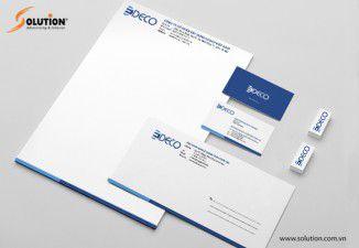 Thiết kế bộ nhận diện thương hiệu EDECO
