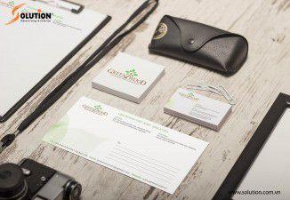 Thiết kế bộ nhận diện thương hiệu Green wood