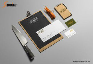 Thiết kế bộ nhận diện thương hiệu Nhà hàng Nét Sài Gòn