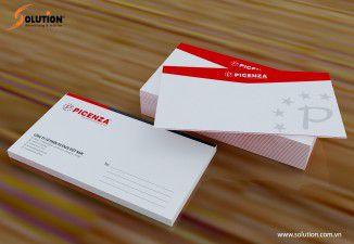 Thiết kế bộ nhận diện thương hiệu Công ty Picenza