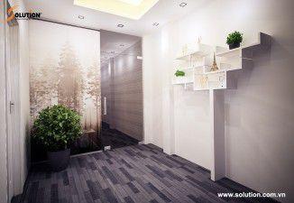 Solution thiết kế thi công nội thất phòng khám nha khoa JET DENTIST