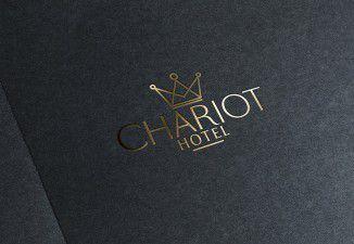 Thiết kế logo khách sạn Chariot