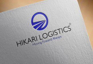 Thiết kế logo Công ty vận tải Hikari Logistics