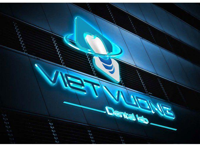 Thiết kế logo nha khoa Việt Vương