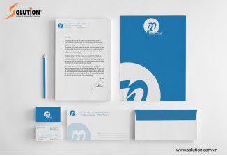 Thiết kế bộ nhận diện thương hiệu Công ty Nhật Phát
