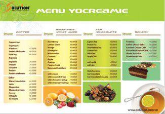 Thiết kế bộ nhận diện thương hiệu Quán kem YoCreamie