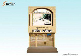 Thiết kế biển quảng cáo Ảnh viện Trần Dũng