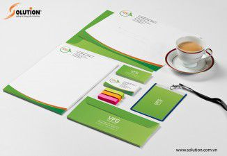 Thiết kế bộ nhận diện thương hiệu Công ty VFG