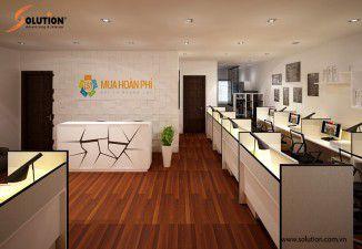 Thiết kế nội thất văn phòng Mua Hộ