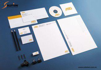 Thiết kế bộ nhận diện thương hiệu Công ty ASG