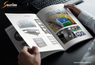 Thiết kế catalogue Công ty cơ khi Đỉnh cao