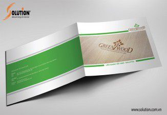 Thiết kế catalogue Green Wood