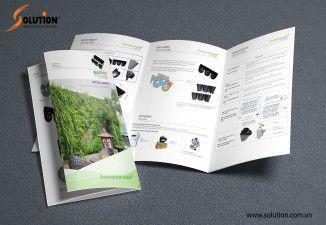 Thiết kế brochure Công ty Sao Mộc