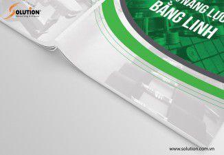 Thiết kế catalogue Công ty Bằng Linh