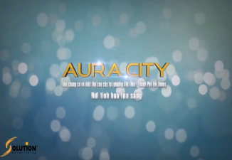 TVC khu đô thị mới aura city.