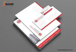 Thiết kế bộ nhận diện thương hiệu phụ tùng máy công trình Hải Lâm