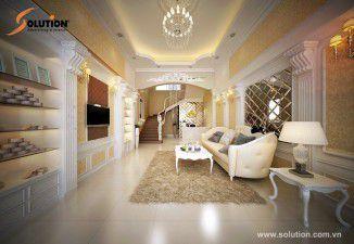 Solution thiết kế thi công nội thất thẩm mỹ viện Ngọc Anh – Bắc Ninh