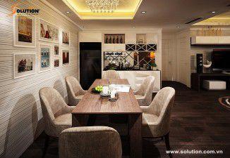 Thiết kế nội thất chung cư cao cấp Thăng Long No.1