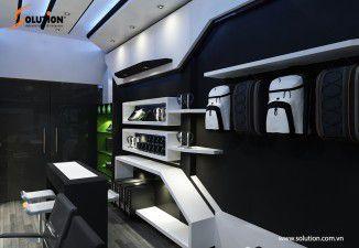 Thiết kế nội thất showroom Playzone