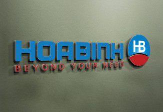 Thiết kế logo Công ty Hòa Bình