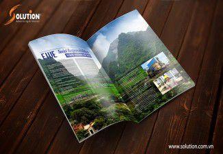 Thiết kế catalogue Công ty Tân Nguyên