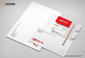 Thiết kế bộ nhận diện thương hiệu HLD Pacific
