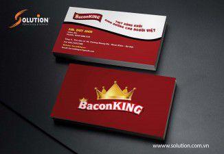 Thiết kế Logo Thương hiệu Thực phẩm BanconKing