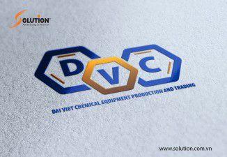 Thiết kế Logo Công ty TNHH Sản xuất và Thương mại Hóa chất Thiết bị Đại Việt