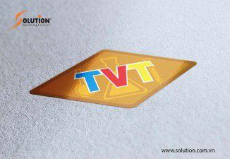 Thiết kế Logo Công ty TNHH Thương mại Hóa chất Tân Việt Trung (TVT)