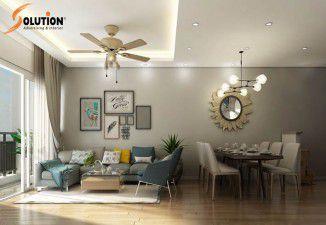 Thiết kế thi công nội thất chung cư căn hộ 82m2 ở Park Hill