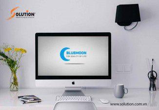 Thiết kế bộ nhận diện thương hiệu công ty TNHH Thương Mại BLUE MOON