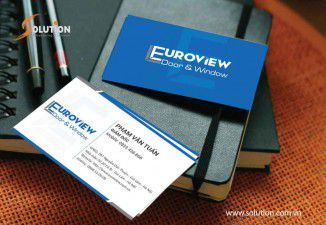 THIẾT KẾ BỘ NHẬN DIỆN THƯƠNG HIỆU EURO VIEW