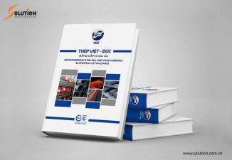 Thiết kế bộ catalogue công ty thép Việt Đức