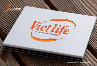 Thiết kế bộ nhận diện thương hiệu công ty VIETLIFE