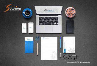 Thiết kế bộ nhận diện thương hiệu công ty ĐÔ THỊ XANH