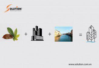 Thiết kế logo công ty cổ phần sinh thái Đô Thị Xanh