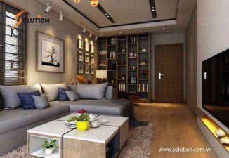 Thiết kế nội thất nhà anh Thanh tại Hào Nam