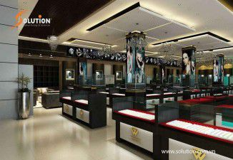 Thiết kế thi công nội thất showroom vàng Đại Việt Cổ
