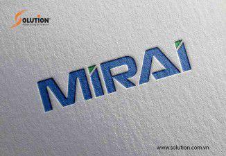 Thiết kế logo công ty cổ phần Mirai International