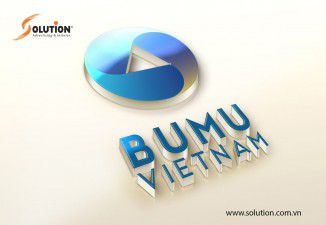 Thiết kế logo công ty tư vấn kỹ thuật công trình quốc tế BuMu Việt Nam