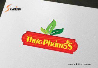 Thiết kế logo trung tâm hỗ trợ phát triển thanh niên nông thôn Thực Phẩm 5s