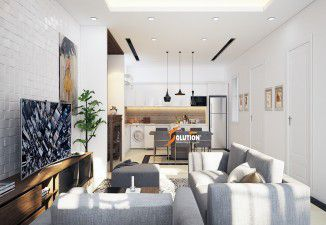 Thiết kế nội thất nhà ở cho chị Hà với phong cách hiện đại