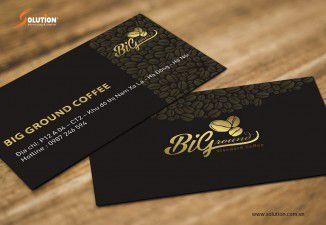 Thiết kế logo quán cafe Biground