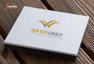 Thiết kế logo cho công ty Vạn Vân Group