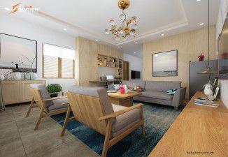 Thiết kế nội thất nhà chú Phú