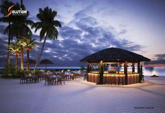 Thiết kế nội thất cho Beach Hut Bar Tuần Châu
