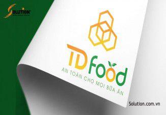 Thiết kế bộ nhận diện thương hiệu TD FOOD